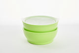 12oz eLIpse spill proof bowl set with lids - Bunnytickles