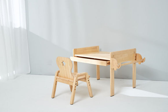 Adjustable Table and Chair Set - Bunnytickles