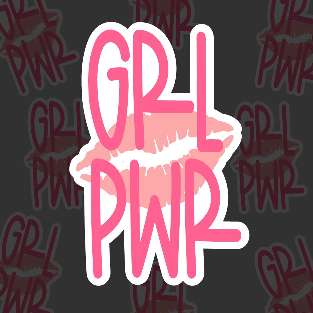 Grl Pwr - Glossy Sticker Sheets (3 sheets)