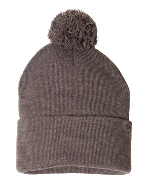 Cuff Beanie with Pom - Kids and Adults