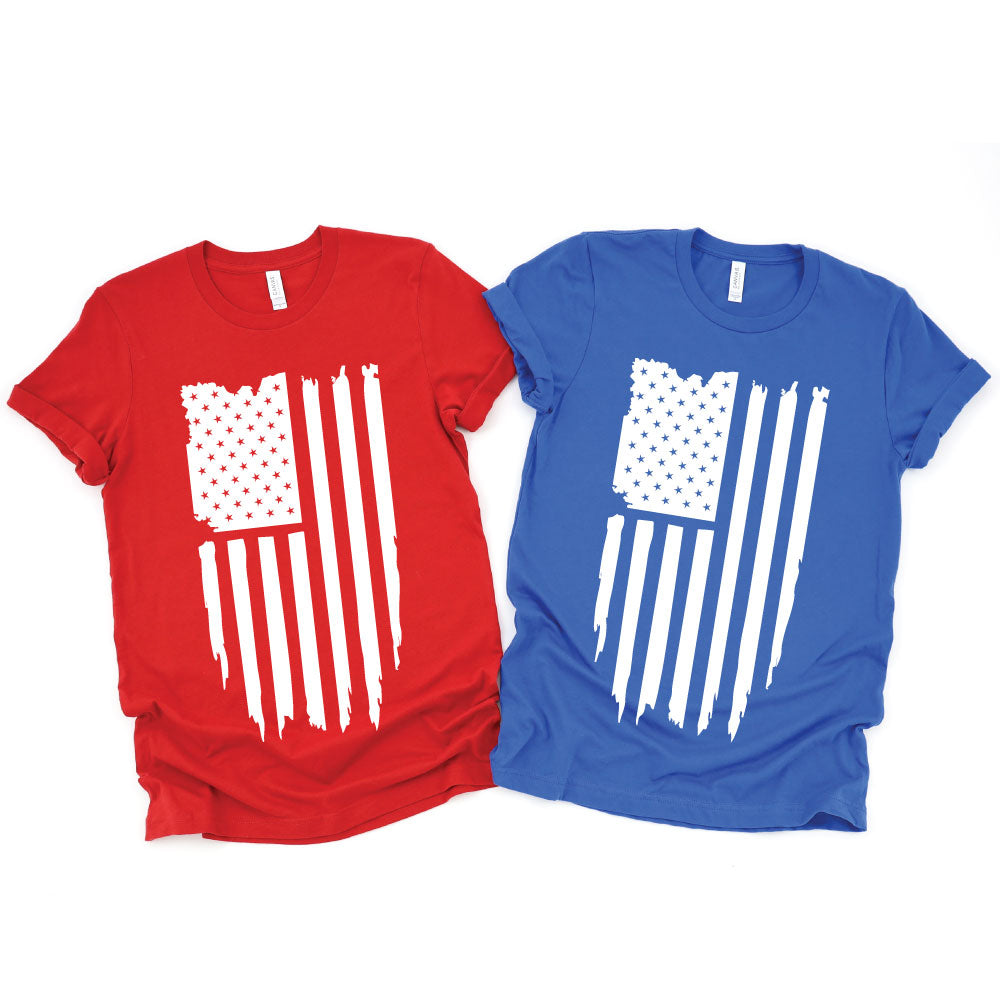 American Flag - UNISEX Tee or Tank - West+Mak