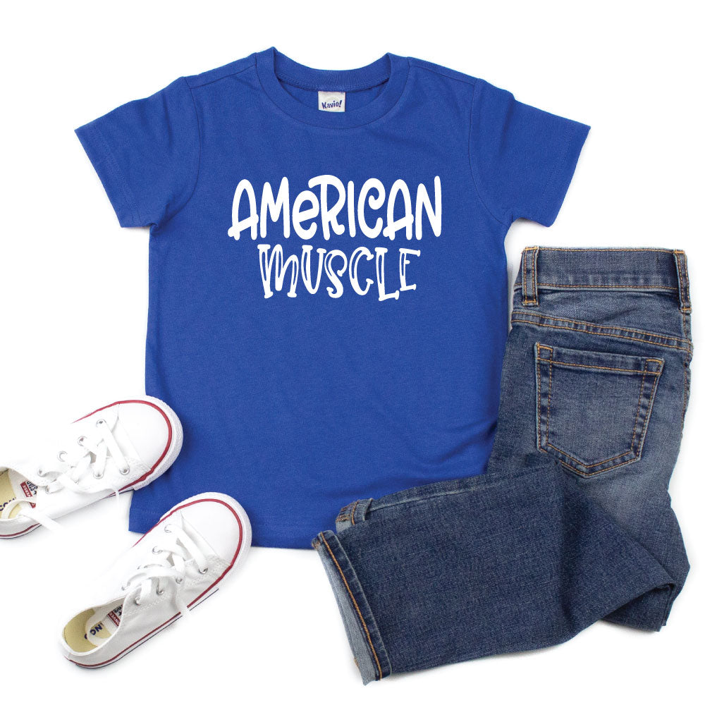 American Muscle - Kids Tee or Tank - West+Mak