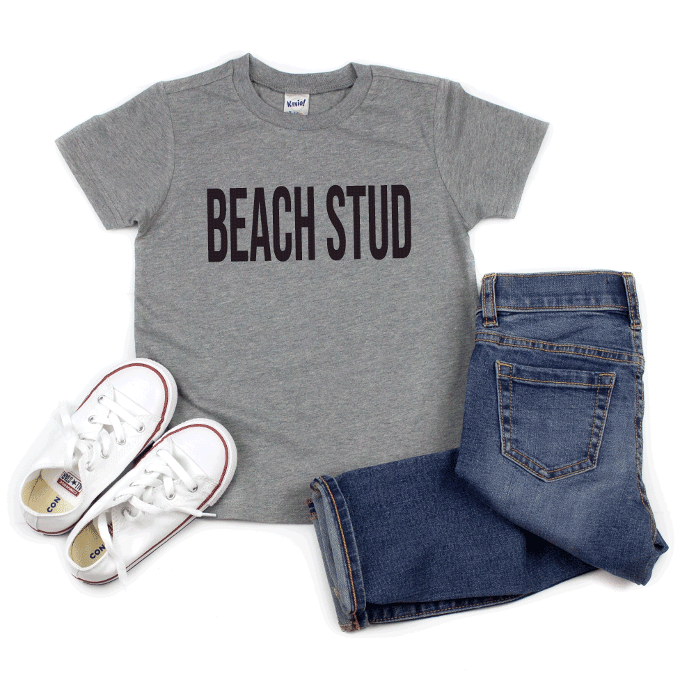 Beach Stud  - Kids Short Sleeve Tee