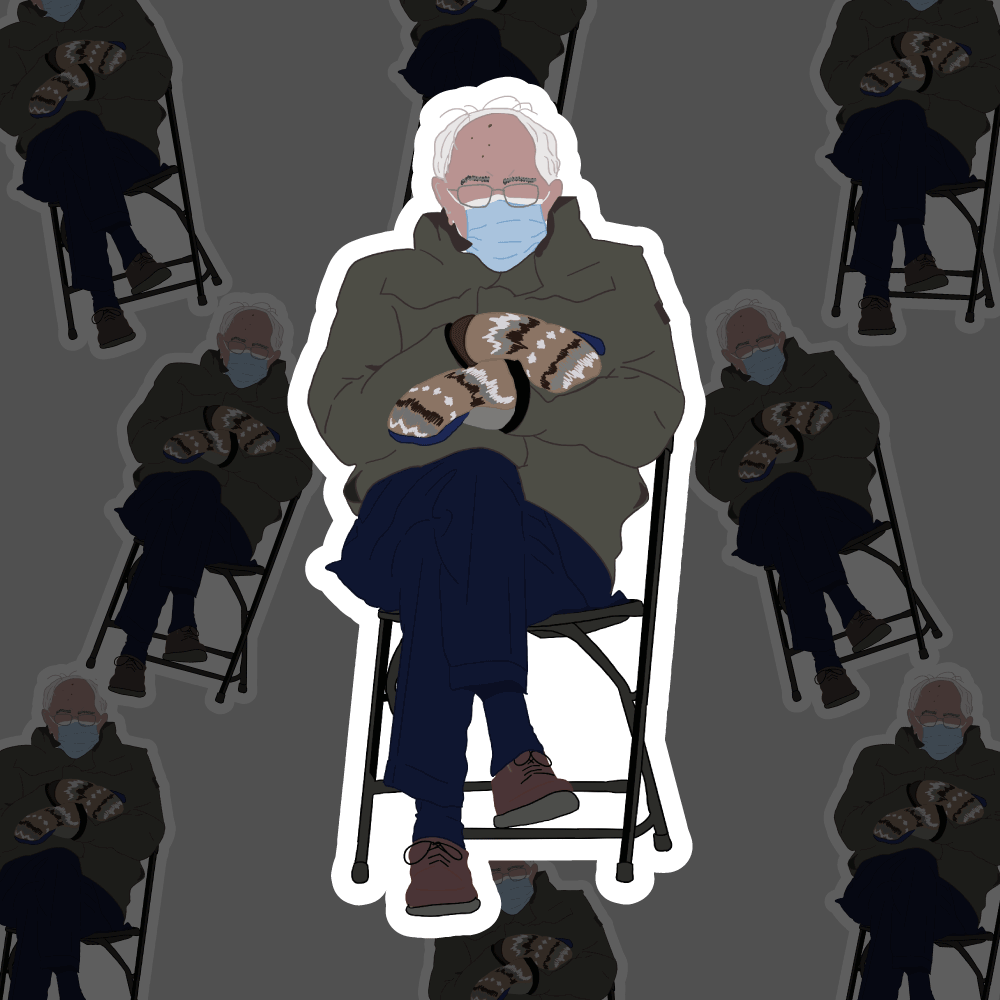 Oh Bernie - Waterproof Sticker Sheet