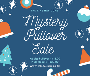 Mystery Pullover Sale - ADULTS