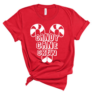 Candy Cane Crew - Adult Unisex Tee - West+Mak