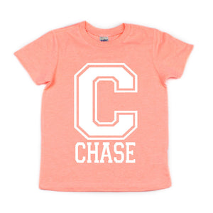 Varsity Name/Word Shirts - Kid's Short Sleeve Shirt - West+Mak