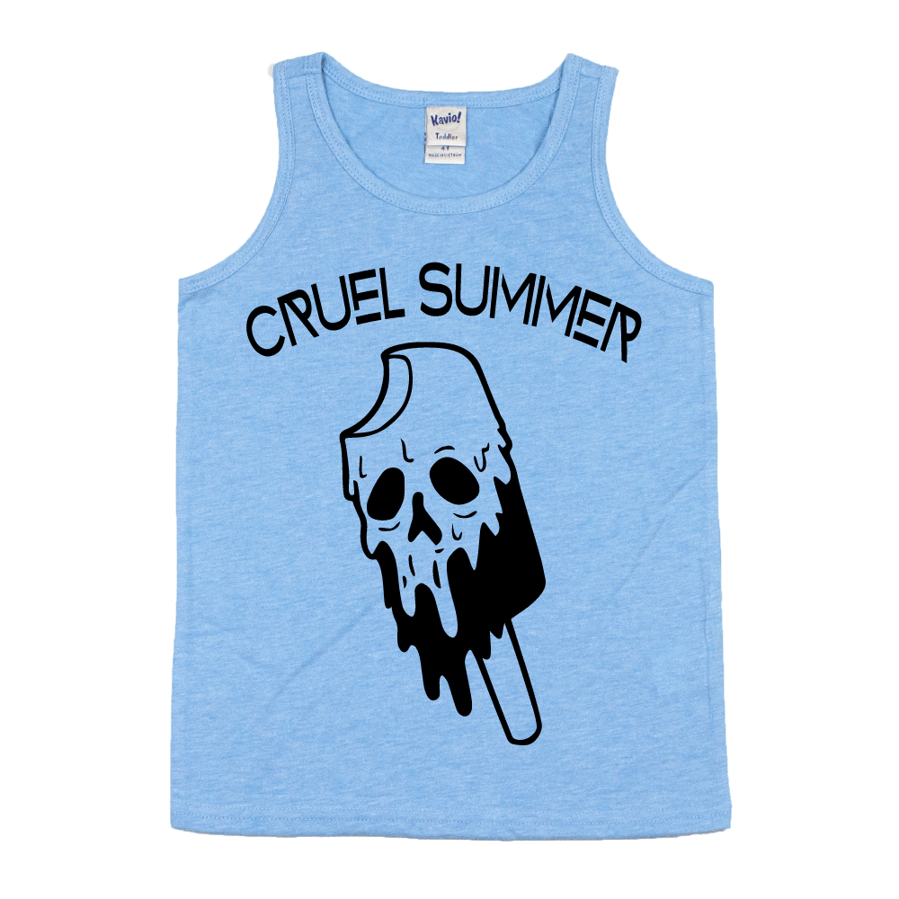 Cruel Summer Popsicle  - Kids Tank