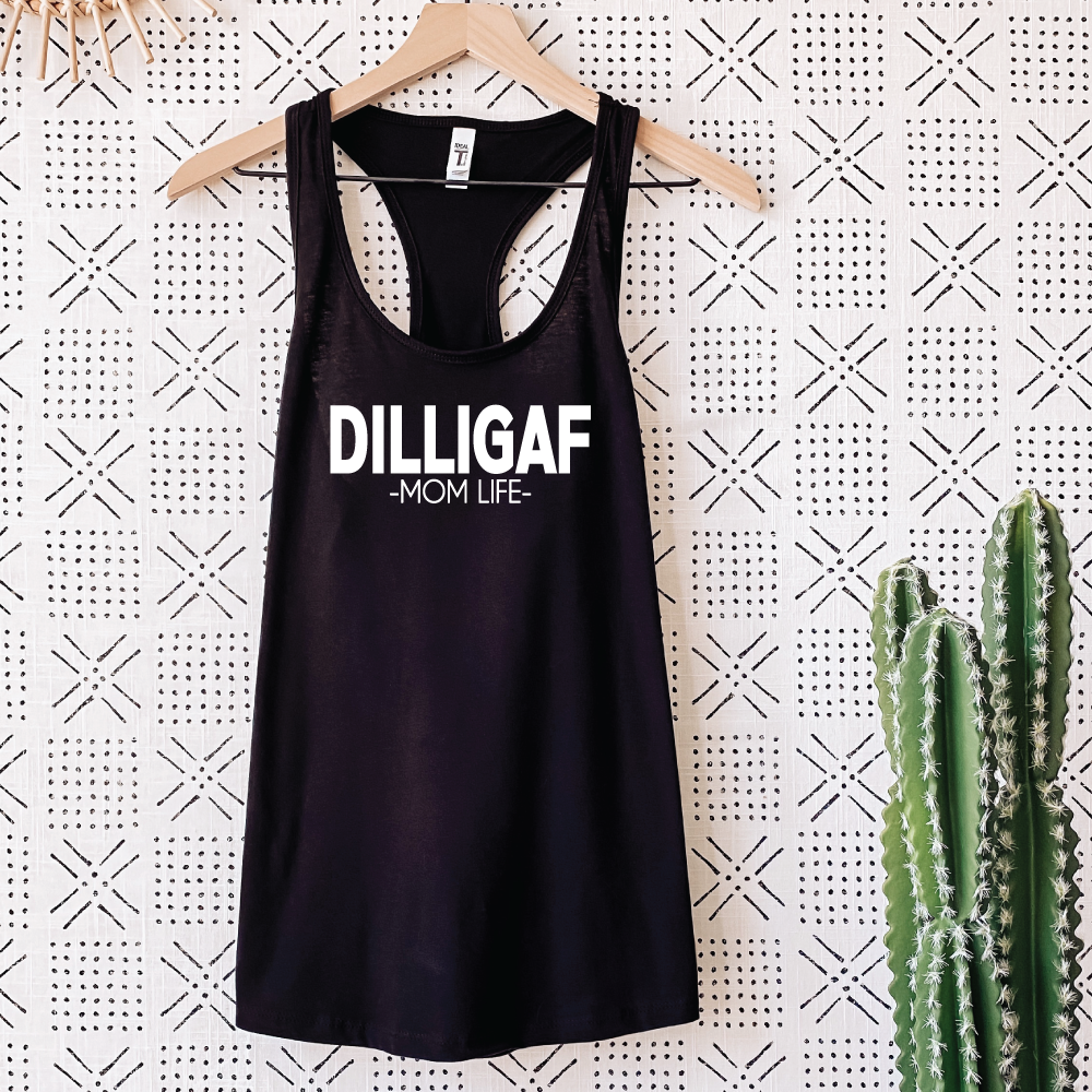 DILLIGAF - WOMEN'S Black Tank