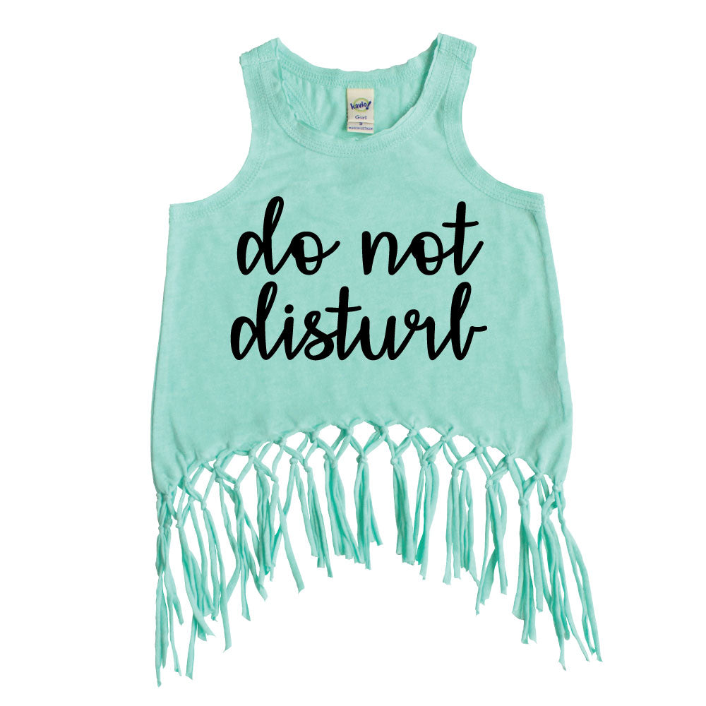 Do Not Disturb - Macrame Top - West+Mak