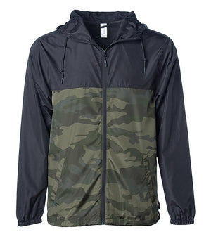 BLANK Men's Sizing Lightweight Hooded Windbreaker - West+Mak