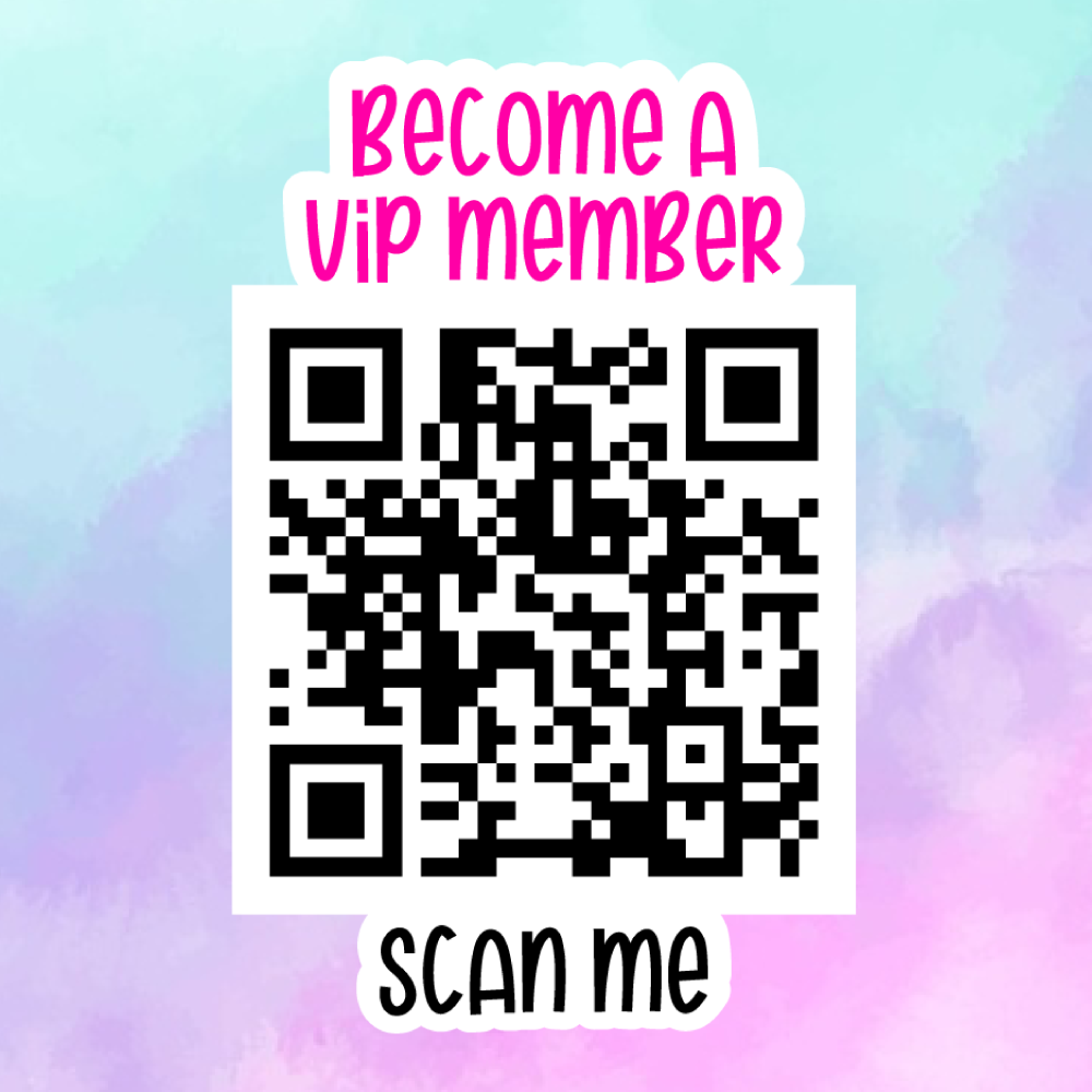 FB Group Member QR Code - Sticker Sheet