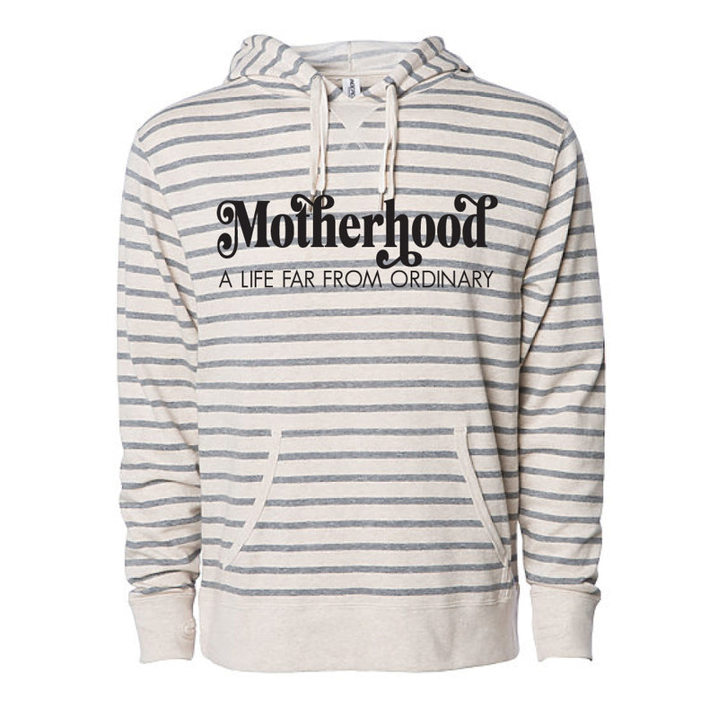 Motherhood, A Life Far From Ordinary - Adult Unisex Hoodie Pullover - West+Mak