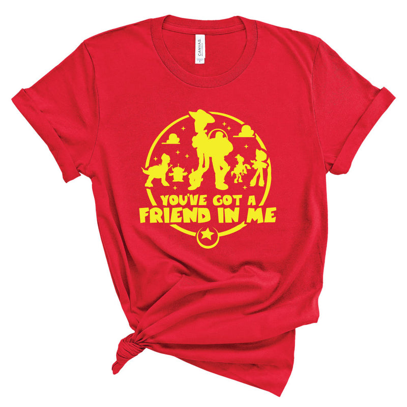 You've Got a Friend in Me - Adult Unisex Tee - West+Mak