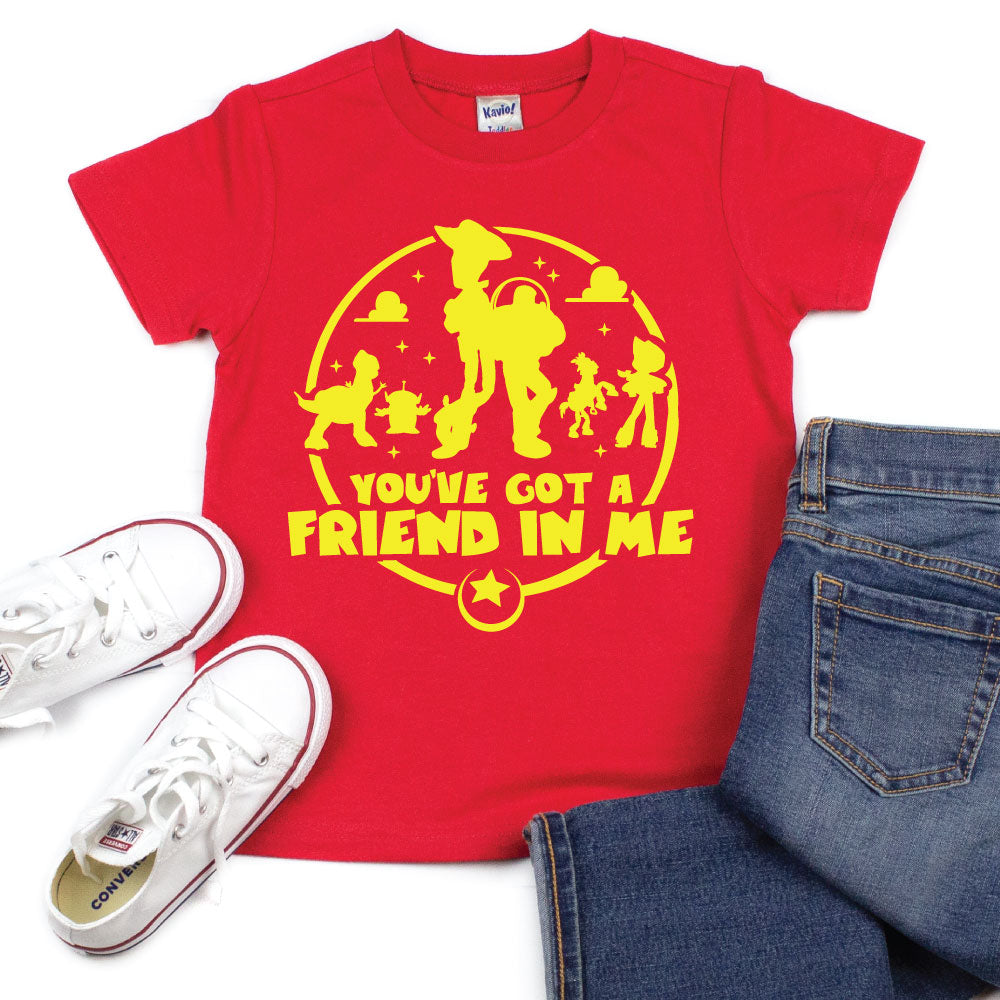 You've Got a Friend in Me - Kid's Tee - West+Mak