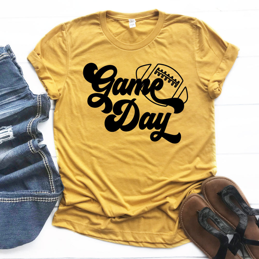*CHOOSE TEAM* Game Day Option 1 - Unisex Tee - West+Mak