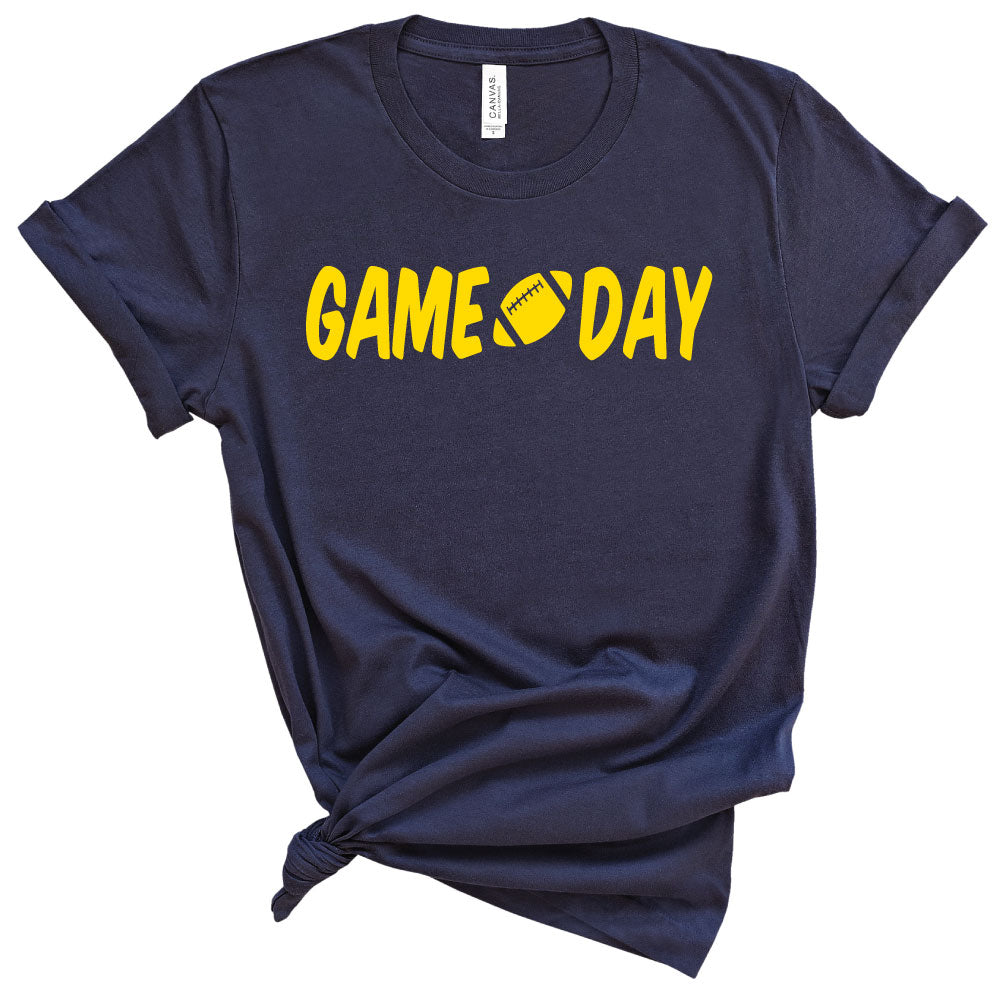 *CHOOSE TEAM* Game Day Option 2 - Unisex Tee - West+Mak