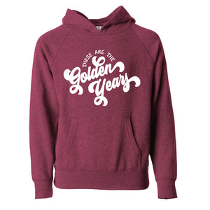 These are the Golden Years - Adult Pullover Hoodie - West+Mak