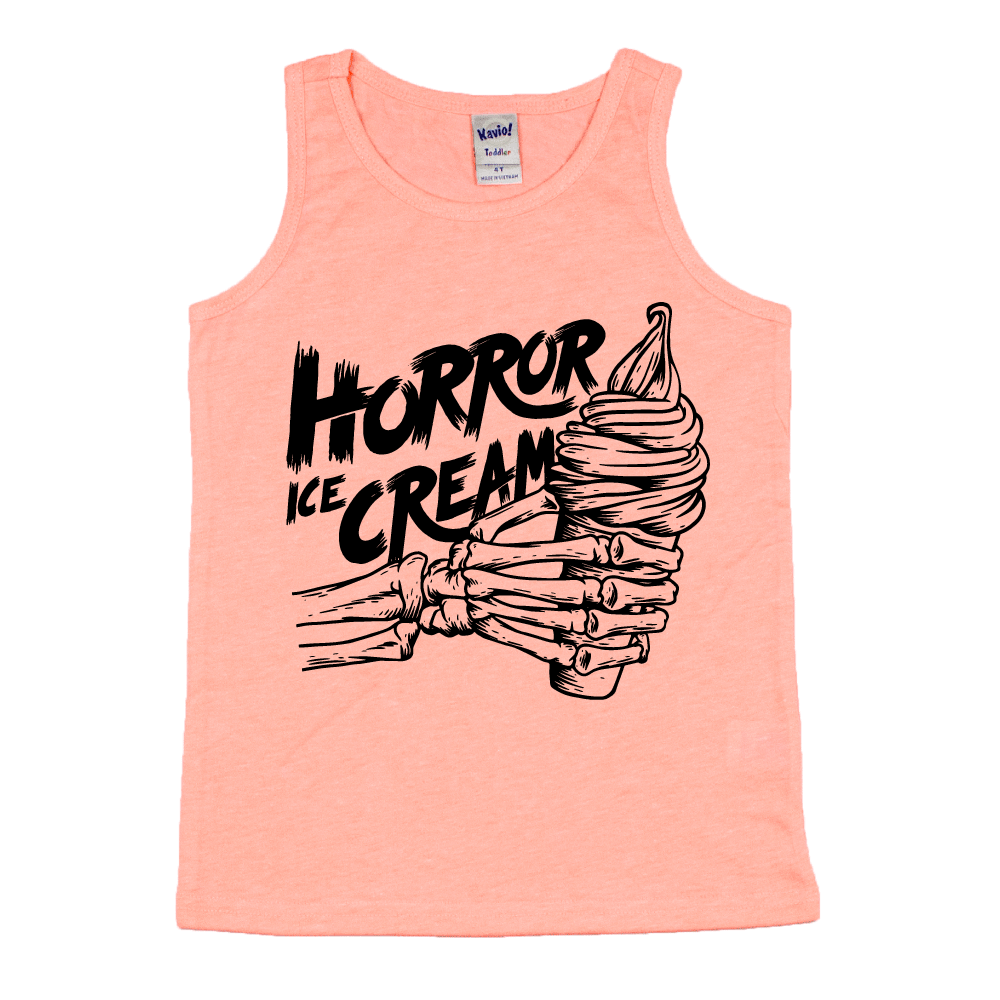 Horror Ice Cream - Kids Tank