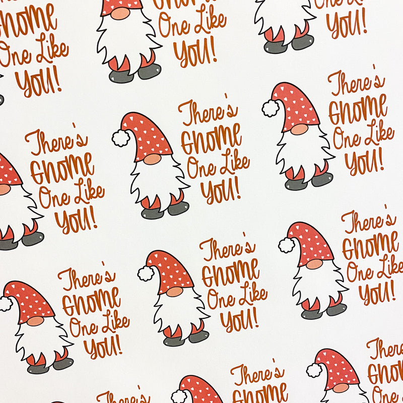 There's Gnome One Like You - Sticker Sheets (3 sheets)