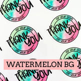 Thank You for Your Order - Sticker Sheet