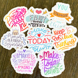 Positive Affirmations - Individually Cut