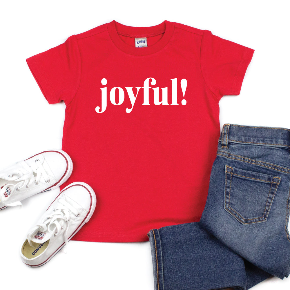 joyful! - Kid's Short/Long Sleeve Tee - West+Mak