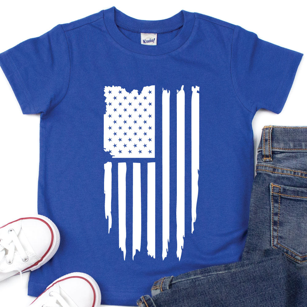 American Flag - Kids Tee or Tank - West+Mak