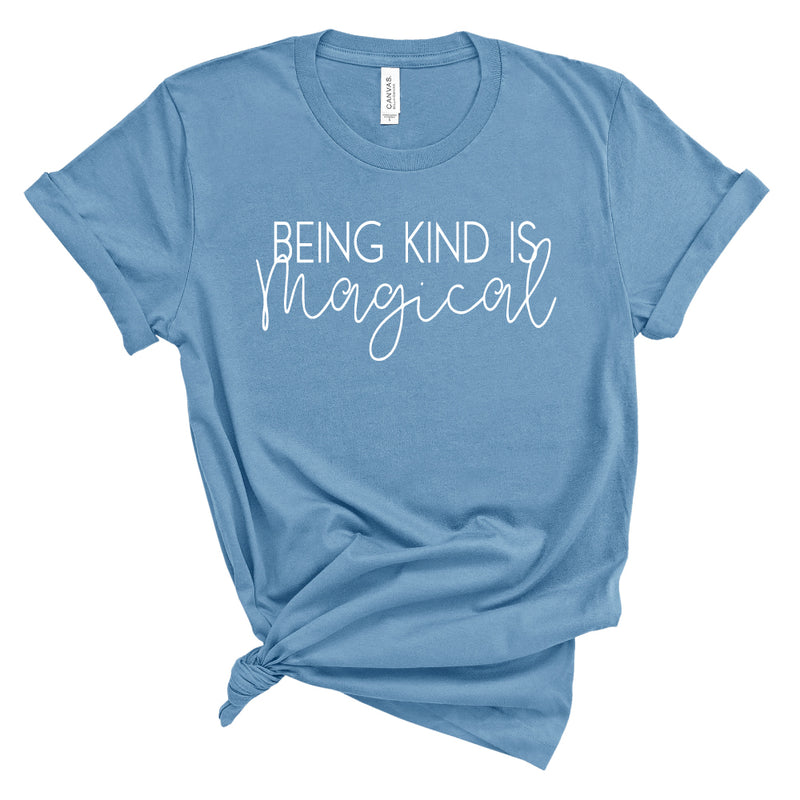 Being Kind is Magical - Adult Unisex Short Sleeve Tee - West+Mak