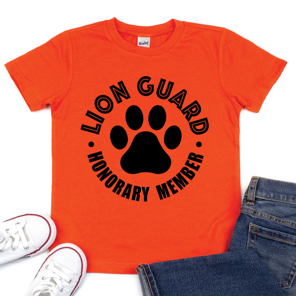 Lion Guard Honorary Member - Kid's Tee - West+Mak