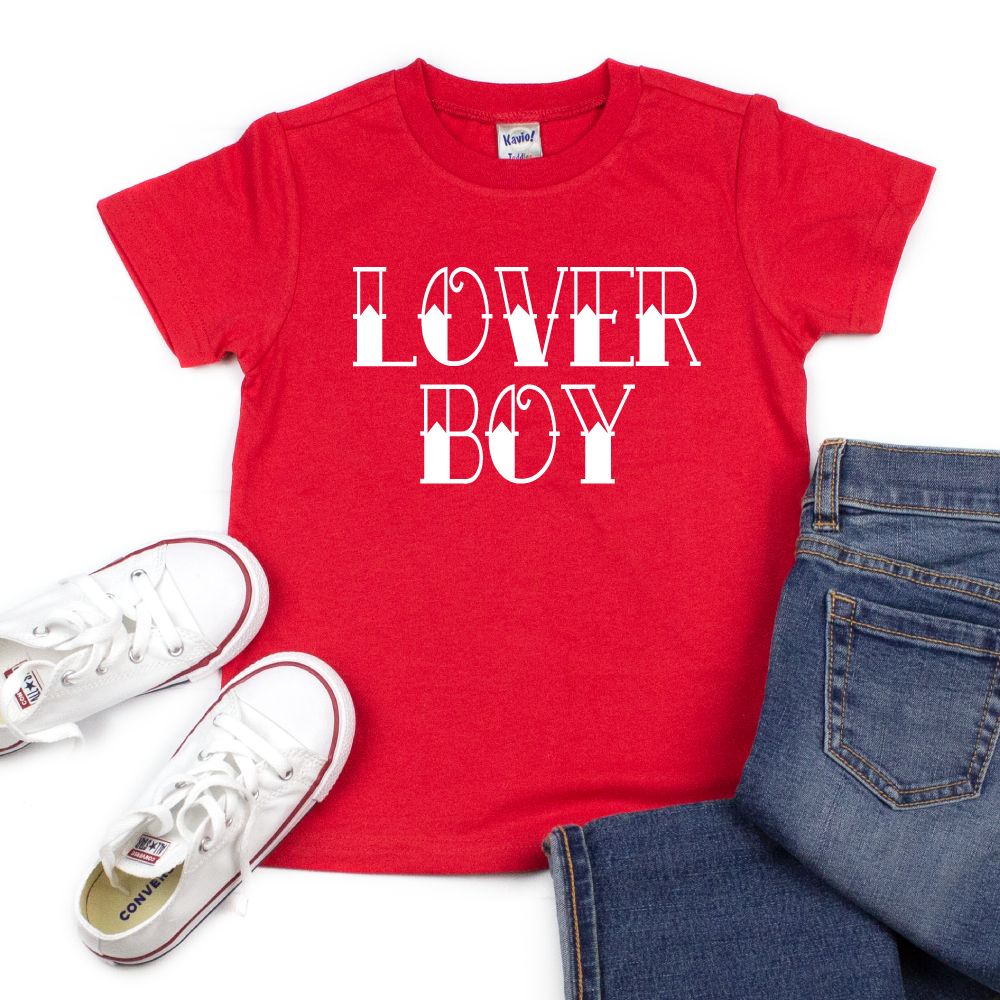 Lover Boy - Kids VDay Tee - West+Mak