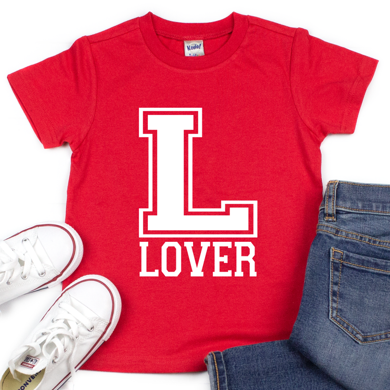 Lover - Kids VDay Tee - West+Mak