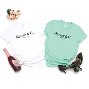 Mickey & Co - Adult Unisex Tee - West+Mak