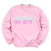 Mommy Off Duty - Adult Unisex Pullover - West+Mak