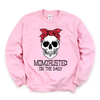 Momzausted on the Daily Skull - Adult Unisex Pullover - West+Mak