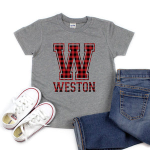 Custom Name/Word - Kid's Tee/Hooded Long Sleeve - West+Mak