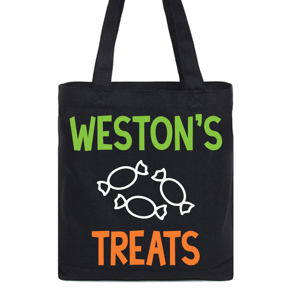 Candy Treats Halloween Tote - West+Mak