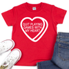 Quit Playing Games with My Heart - Kids VDay Tee - West+Mak