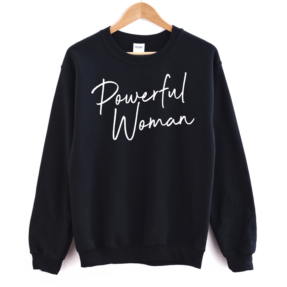 Powerful Woman - Adult Unisex Pullover