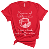 Roses are Red, Violets are Blue - Adult Unisex Short Sleeve Tee - West+Mak
