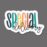 Special Delivery (Colorful) - Sticker Sheet