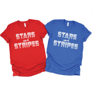 Stars and Stripes - UNISEX Tee or Tank - West+Mak