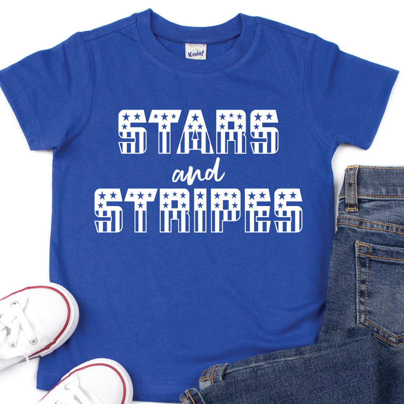 Stars and Stripes (Flag) - Kids Tee or Tank - West+Mak