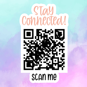Multiple Links QR Code - Sticker Sheet