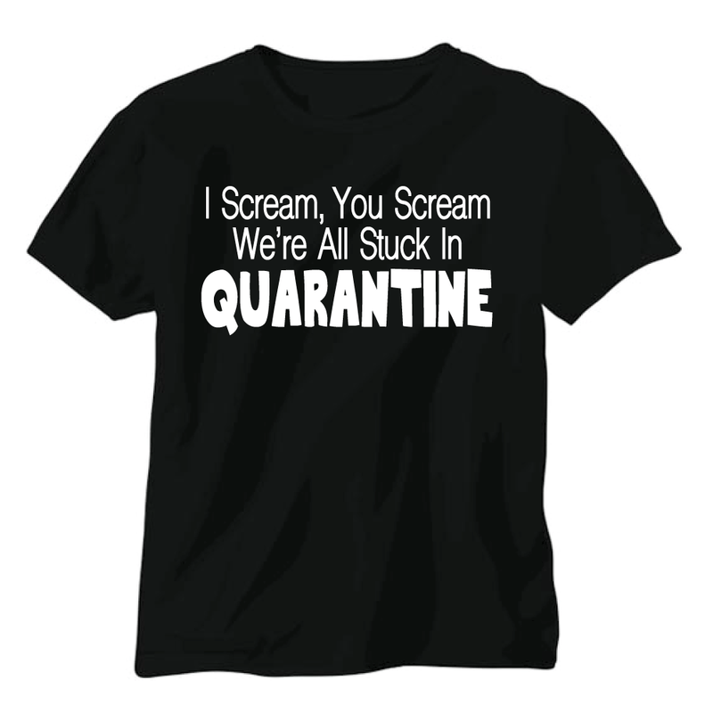 Stuck in Quarantine - Kid's Short Sleeve Tee - West+Mak