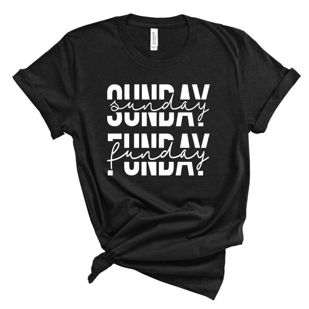*CHOOSE TEAM* Sunday Funday Option 1 - Unisex Tee - West+Mak