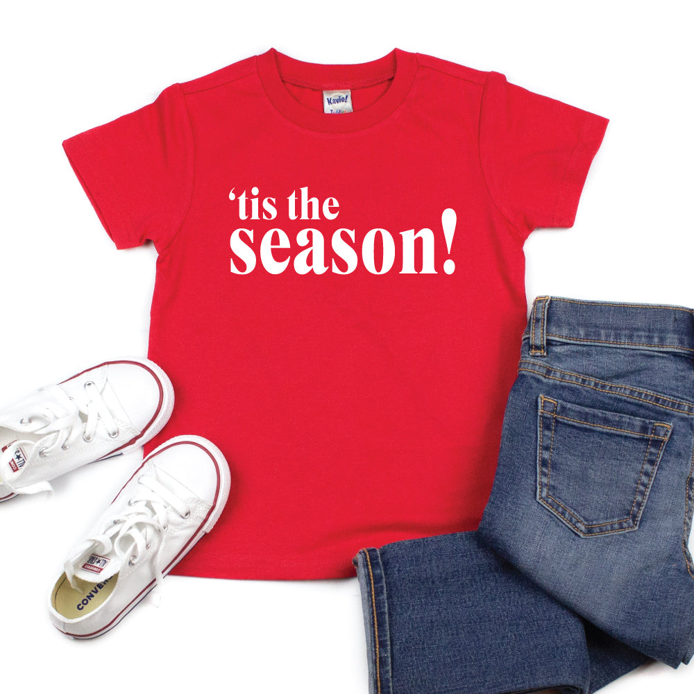 'tis the season! - Kid's Short/Long Sleeve Tee - West+Mak