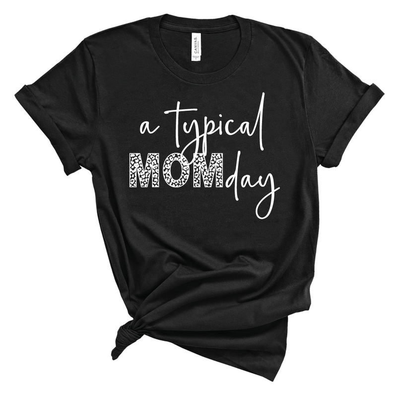 A Typical MOMDay Leopard - Unisex Short Sleeve Tee