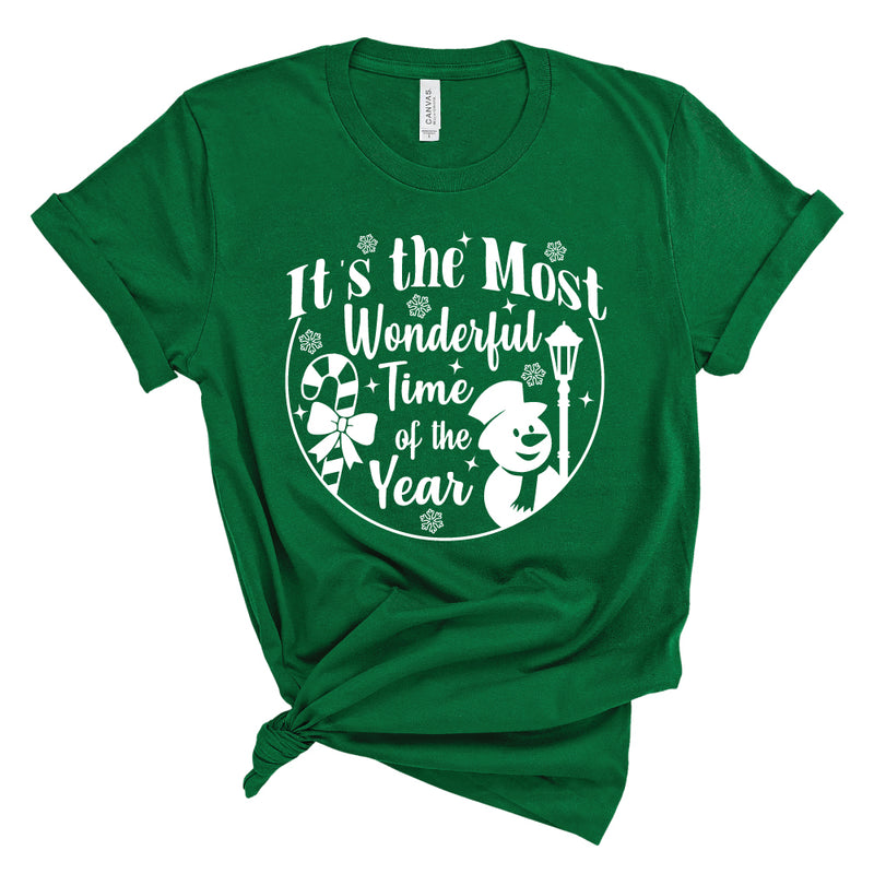 It's the Most Wonderful Time of the Year - Adult Unisex Short Sleeve Tee - West+Mak
