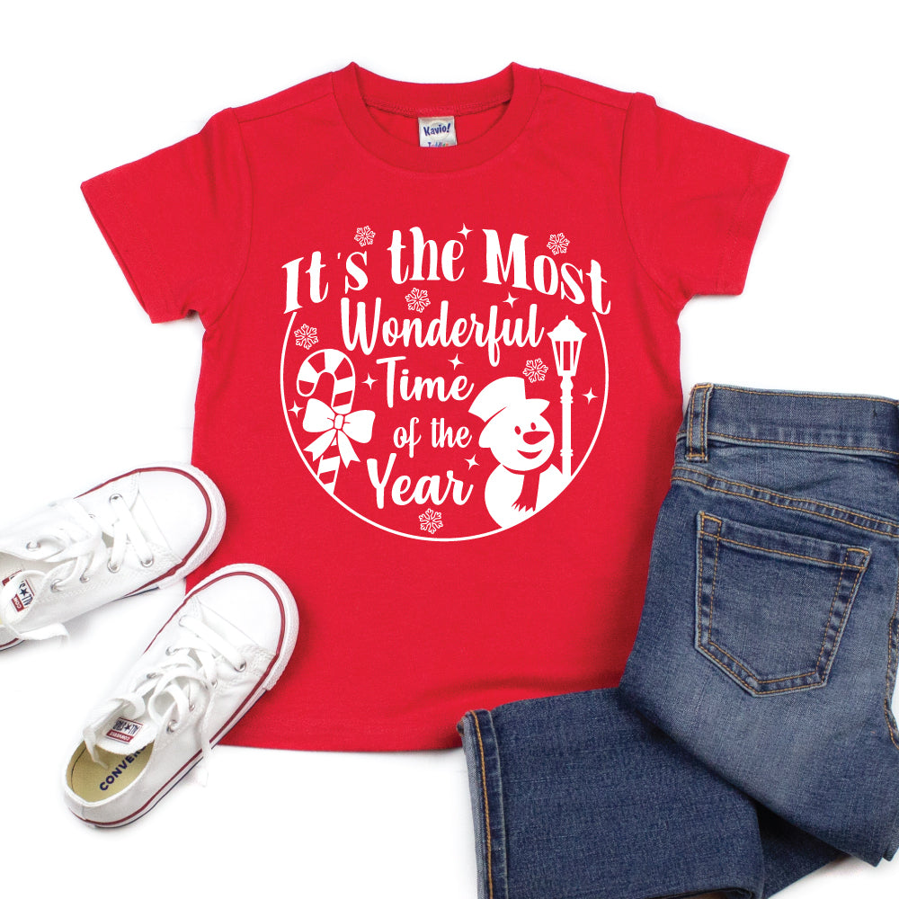 It's the Most Wonderful Time of the Year - Kid's Short/Long Sleeve Tee - West+Mak